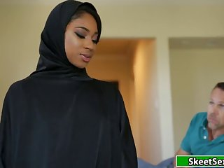 Black Arab Student Fucks Here Guardians White Cock 720p