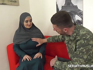 Muslim Milf Pays For Service With Her Body 720p