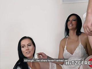 German Brunette Loves It Up Her Ass